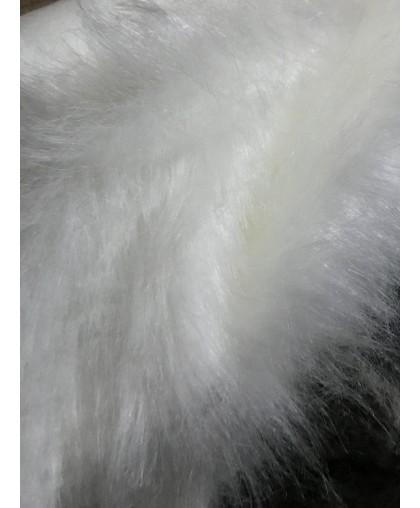 Мех искусственный для игрушек длинноворсовый белый(м.п.)