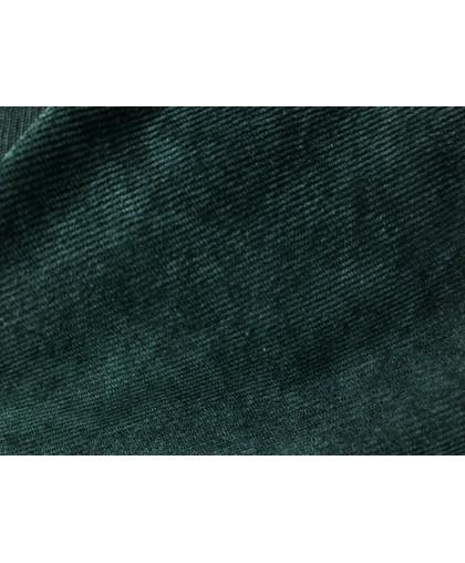 Ткань микровельвет темно зеленый