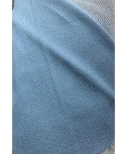 Ткань джинс тонкий голубой