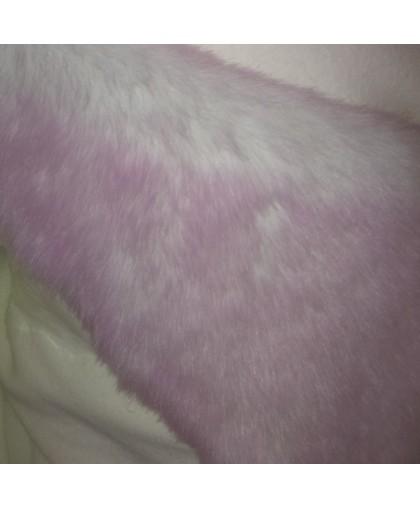 Мех искусственный Кролик розовый (метр )