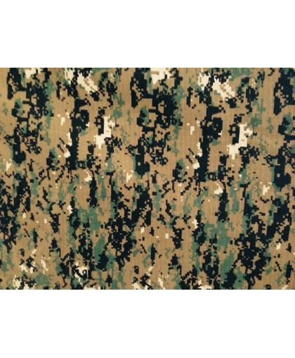 Ткань камуфляжная рип-стоп Морпад (метр )