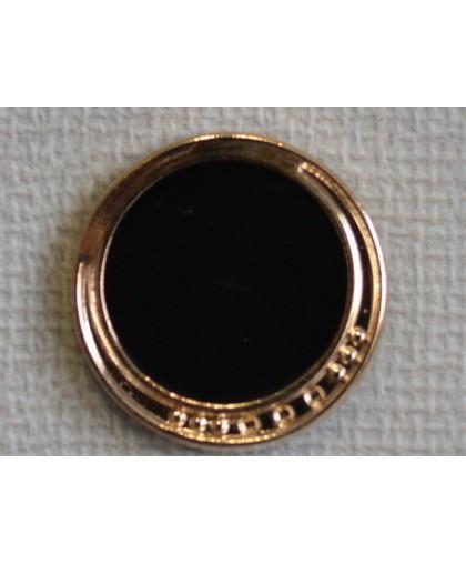 Кнопка декоративная 25 мм №20 золото (1000 штук)