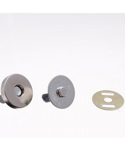 Кнопка магнит 18 мм  (100 штук)