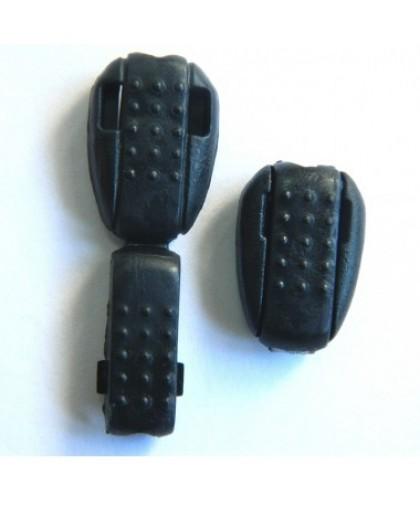 Наконечник жабка фасоль №322 черный (1000 штук)