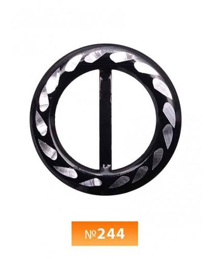Пряжка метал №244 (100 штук)
