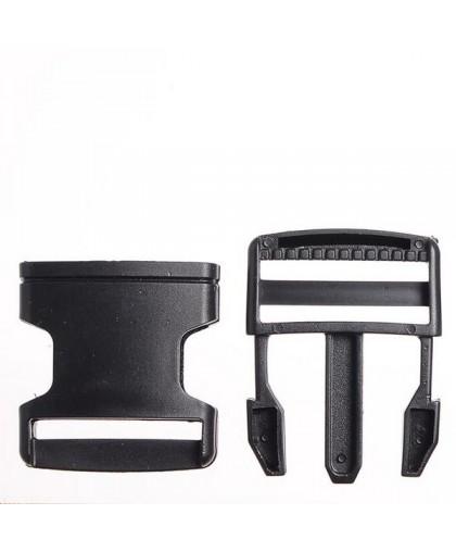 Карабин-фаст 2.5 см черный (200 штук)