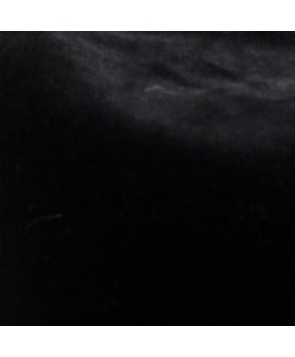 Мех искусственный Мутон черный 10-12мм (метр )