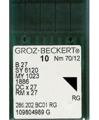 Иглы Groz-Beckert оверлочные DCx27 (100 штук)