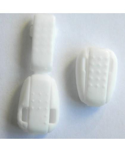 Наконечник жабка фасоль №101 белый (1000 штук)
