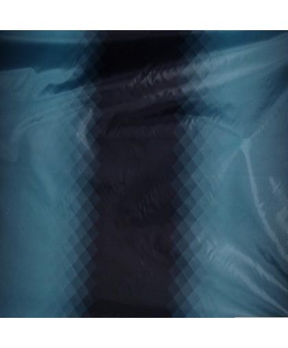 Ткань плащевка ромбы синий (метр )