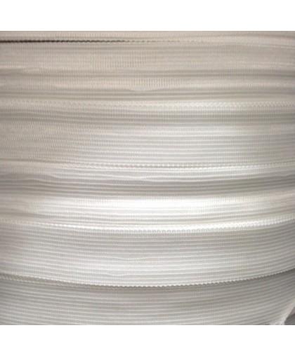 Тесьма окантовочная 28мм белая (1000 метров)