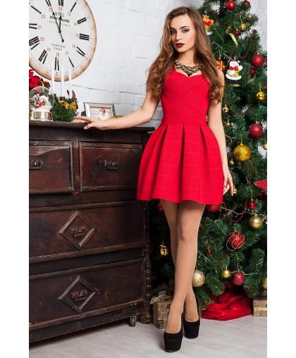 Платье женское Грация красное PG003 (Штука)