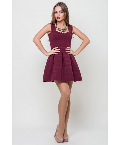 Платье женское Грация марсала, бордовый PG317 (Штука)