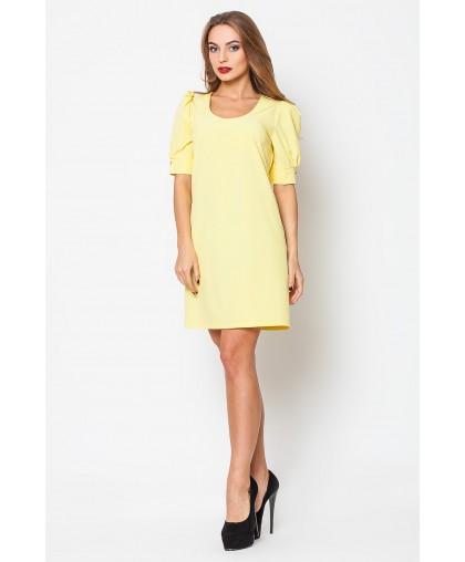 Платье женское Ева желтое PE033 (Штука)