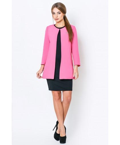 Кардиган женский Креп розовый KK254 (Штука)