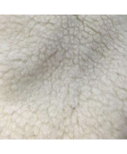 Мех искусственный ПШ барашек белый (м.п.)