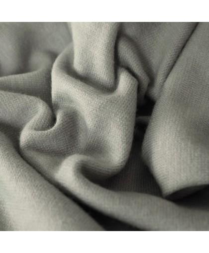 Ткань трикотаж ангора светло-серый (метр )