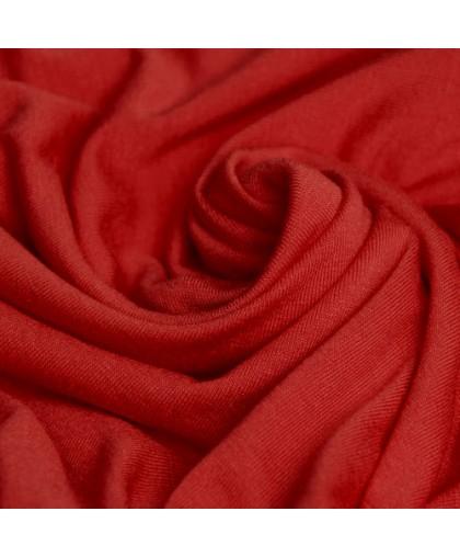 Ткань трикотаж вискоза красный (метр )