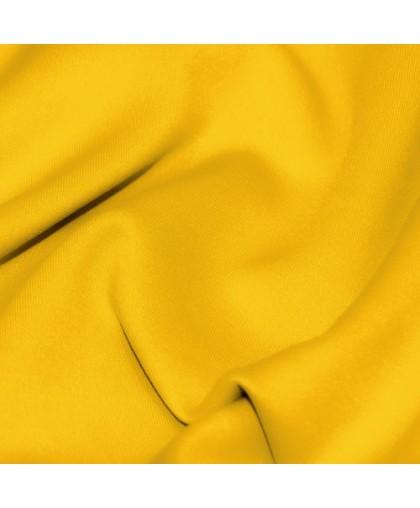 Ткань трикотаж дайвинг однотонный желтый (метр )