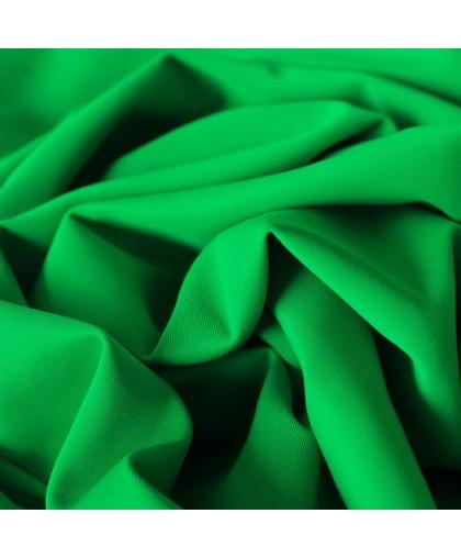 Ткань трикотаж дайвинг однотонный зеленый (метр )