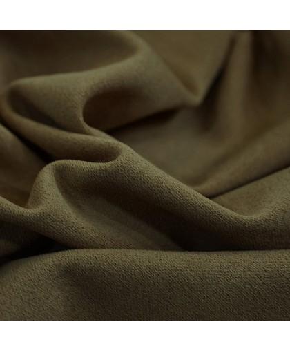 Ткань трикотаж креп-дайвинг кофе с молоком (метр )