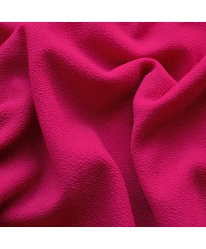 Ткань трикотаж креп малиновый (метр )