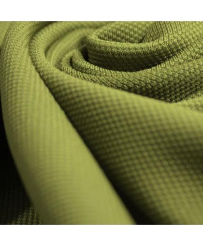 Ткань трикотаж кукуруза оливковый (метр )