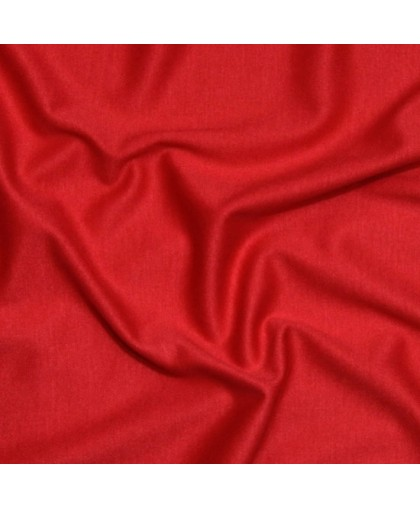Ткань трикотаж лакоста красная (метр )