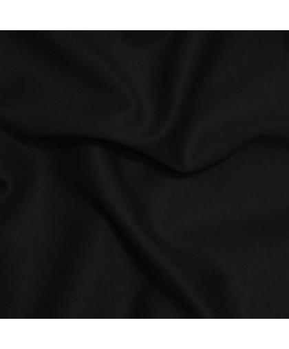 Ткань трикотаж лакоста черная (метр )