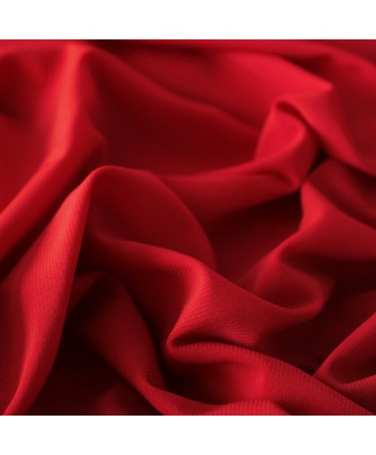 Ткань трикотаж масло красный (метр )
