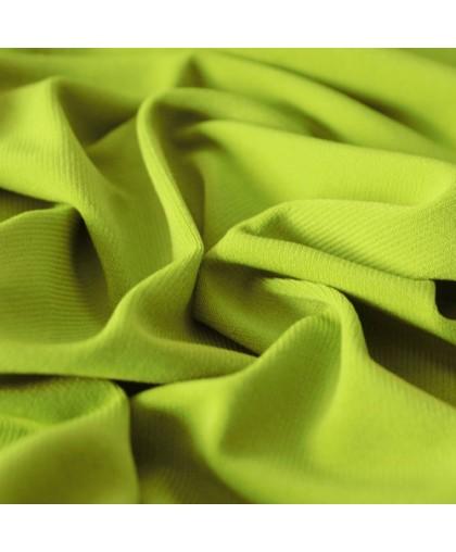 Ткань трикотаж масло оливковый (метр )