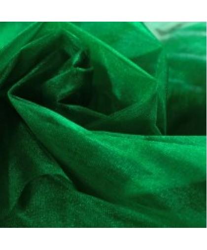 Ткань фатин средней жесткости зеленый (метр )
