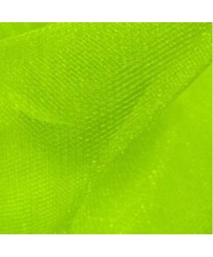 Ткань фатин средней жесткости лайм (метр )