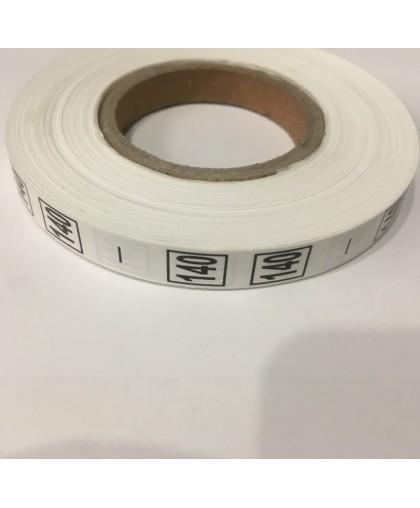 Размерная лента (накатка) 140 (1000 штук)